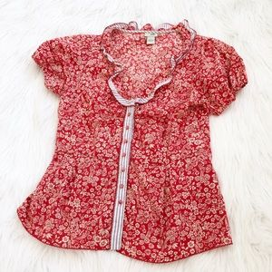 Anthropologie Odille Button Down Blouse